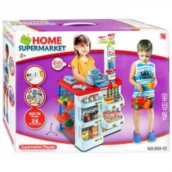 ست اسباب بازی سوپر مارکت هوم با سبد خرید مدل 66802 HOME Supermarket