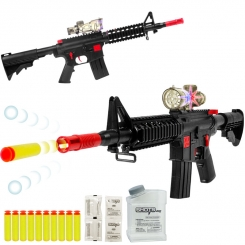 تفنگ اسباب بازی ام 16 نایت هایکس با قابلیت شلیک گلوله بادکشی و ژله ای M16 NIGHTHAWKS YANG KAI M16+