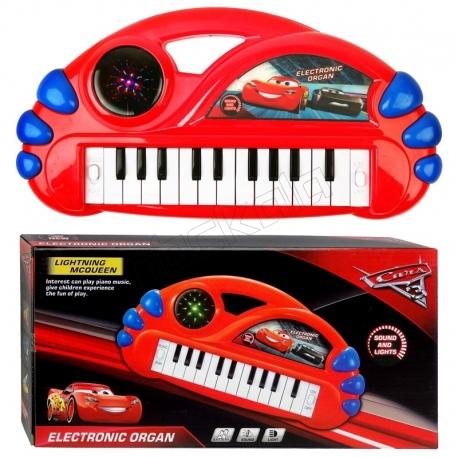 پیانو ارگ مک کویین مدل 22 کلیده با رقص نور LIGHTNING MCQUEEN ELECTRONIC ORGAN No. 17616-85