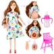 عروسک باربی مدل باربی باردار Happy Mother Pregnant Barbie No.196