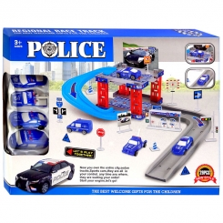 پارکینگ پلیس اسباب بازی مدل 29 تکه Regional Race Track CY380-15