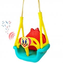 تاب موزیکال پلاستیک سامان مدل جری سویینگ 3 در 1 طرح چیکو Plastic Saman Chicco Jerry Swing