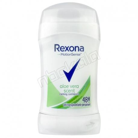 مام رکسونا صابونی مردانه زنانه آلوئه ورا 48 ساعته بادوام Rexona Stick Aloe Vera Scent MotionSense 40 ml