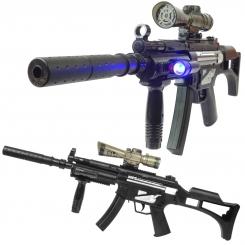 تفنگ شارژی تیر ژله ای اتوماتیک ام پی فایو مدل MP4 607A