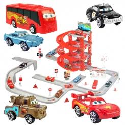 پارکینگ ماشینهای مک کویین مدل 58 تکه McQueen Cars Parking Regional Race Track CY180-2