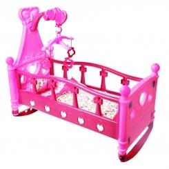 گهواره و تخت خواب عروسک بی بی بورن با آویز تخت