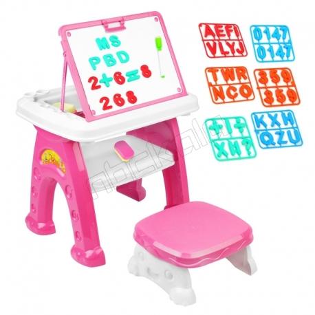 میز و صندلی تحریر کودک آوا مدل AMT1213