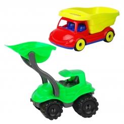 ست لودر سیبیلو و کامیون خنگ پرسینا