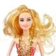 عروسک ست باربی با ست لباس و بچه و تاب و اسکوتر باربی قرمز ELEGANT Barbie No.053