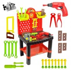 میز ابزارآلات اسباب بازی مدل بیبی بورن Carpentry tool table baby born 57008