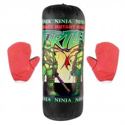 کیسه بوکس اسباب بازی کودکانه سایز کوچک مدل لاک پشت های نینجا Ninja Turtles Small Size Boxing Bag
