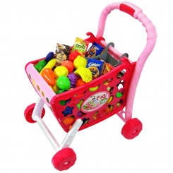 اسباب بازی چرخ دستی فروشگاهی موزیکال ژیونگ چنگ مدل Xiong Cheng Shopping Cart 008-902