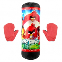 کیسه بوکس اسباب بازی کودکانه مدل انگری بردز Angry Birds Boxing Bag