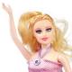 عروسک ست باربی مدل باربی باردار صورتی Fashion Girl Pregnant Barbie No.1006