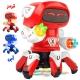 ربات اسباب بازی مرد اختاپوسی طرح هشت پا مدل58661 برند ییل تویز ROCK OCTOPUS MAN ROBOT