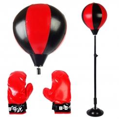 ست کیسه بوکس پایه دار اسپورت مدل 784A-777 به همراه دستکش Sport combination bag