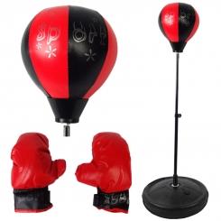 ست کیسه بوکس پایه دار اسپورت مدل J202 به همراه دستکش Sport Boxing Set Punching Ball