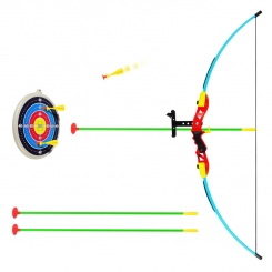 تیر کمان بزرگ روکارتی اسباب بازی با سیبل SHOOTER Archery