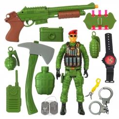 ست تفنگ و کماندو قهرمان نیروی ویژه REAL HEROES SPECIAL FORCES 88780