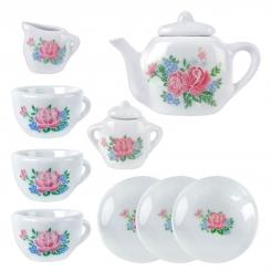 ست فنجان و قوری Porcelain مدل 11 پارچه چینی XINJIALE Porcelain Tea Set