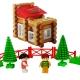 بازی فکری ساختنی کلبه چوبی جنگلی 92 قطعه تک تویز WOODLAND COTTAGE PCS92