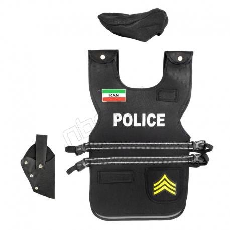 اسباب بازی جلیقه ضدگلوله پلیس مدل گروهبان