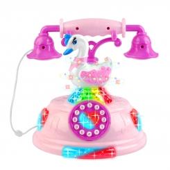 اسباب بازی تلفن آموزشی قو موزیکال مدل Swan Da Hua Toys Telephone NO.90012