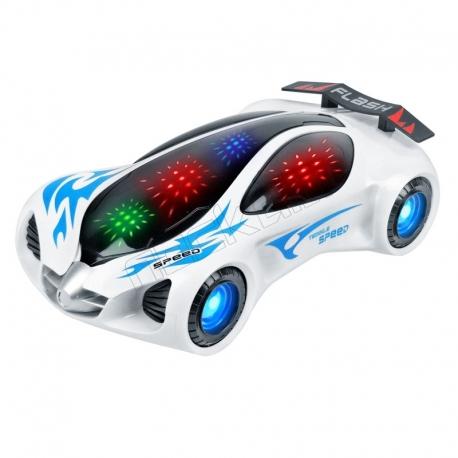 ماشین اسباب بازی باتری خور فلش DIDAI Flash 3D Unique Light LD-116A