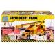 سوپر جرثقیل و ماشین اسباب بازی دورج تویز مدل Truck Crane