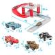 پارکینگ ماشینهای مک کویین دو طبقه مدل 27 تکه McQueen Cars 2 Parking Garage Race Track CY180-1