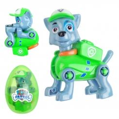 عروسک سگ های نگهبان پاو پاترول مدل راکی سبز پوش Paw Patrol Rocky Toy JT2202