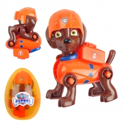 عروسک سگ های نگهبان پاو پاترول مدل زوما نارنجی پوش Paw Patrol Zuma Toy JT2204
