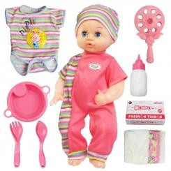 عروسک نوزاد یوکوکا با قابلیت پخش صدای نوزاد مدل UKOKA BABY DOLL 8011-A
