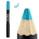 سایه چشم مدادی ویولت مدل اکلیلی Violet Glitter Eye Shadow Pencil