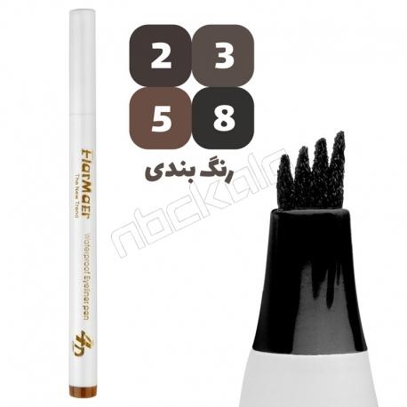 هاشور ابرو فلورمار مدل 4 خط 48 ساعته Flarmaer Eye Liner Pen No:S-096