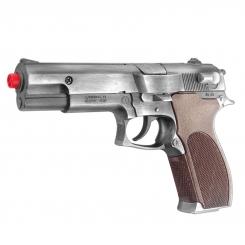 کلت فلزی گانهر مدل 8 تیر ترقه ای GONHER Gold Collection POLICE Gun