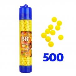 تیر ساچمه تفنگ بادی 6 میلی متری 500 عددی بی بی مدل بروسلی BB BULLET 500 pcs