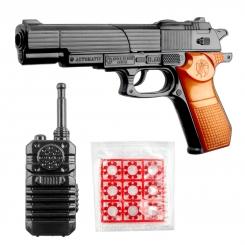 ست کلت و بیسیم مدل برتا اتومات 8 تیر ترقه ای Golden Gun Bretta Automatic B60