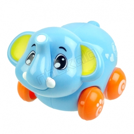 عروسک کوکی فیل نشکن هولا Hola Elephant Wind Up Doll 376