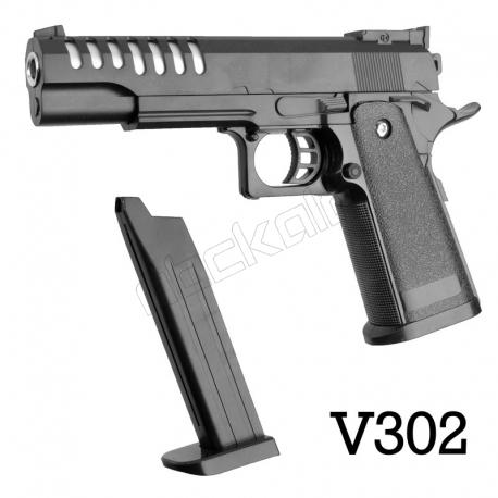 کلت ساچمه ای ایرسافت گان مدل Airsoft Gun 6mm V302