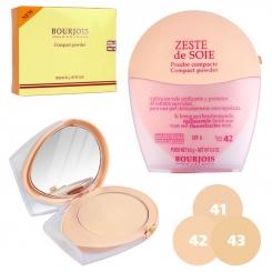 پنکیک بورژوا پاریس مدل زست دو سوی BOURJOIS PARIS ZESTE de SOIE Compact Powder SPF 8 No.41