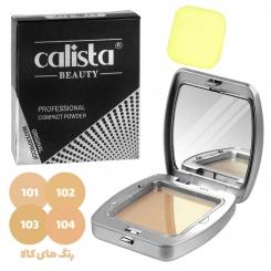 پنکیک کالیستا بیوتی مدل ضد آب Calista BEAUTY Professional Compact Powder No.1980