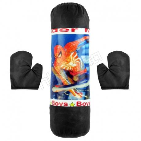کیسه بوکس اسباب بازی کودکانه مدل اسپایدرمن Spider Man Boxing Bag