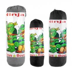 کیسه بوکس اسباب بازی کودکانه مدل لاکپشت های نینجا Ninja Turtles Boxing Bag