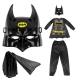 ست نقاب و لباس و شلوار بتمن هیروز سایز 7-8 سال Batman Children Costumes