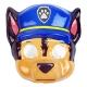 ست نقاب و لباس و شلوار سگهای نگهبان مدل چیس پلیس سایز 5-6 سال Paw Patrol Chase Children Costumes