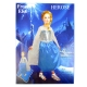 ست لباس و تاج فروزن مدل السا سایز 5-6 سال مدیوم 110 - 120 سانت Frozen Elsa Children Costumes