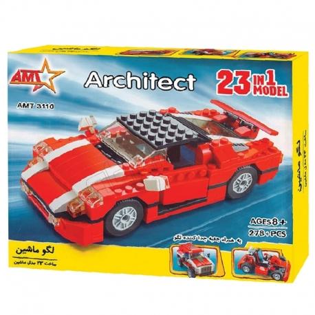 لگو ساختنی آوا طرح 23 مدل ماشین AMT3110