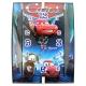 ساعت دیواری کودک طرح مکویین مدل مستطیل Disney Cars Lighting McQueen Wall Clock