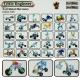 سازه های ساختنی فلزی مکانو با 30 مدل مهندس کوچک LITTLE ENGINEER FULL METAL MECCANO NO 213-13